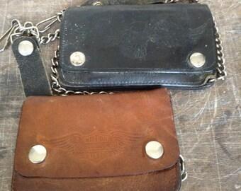 Vintage Harley wallets
