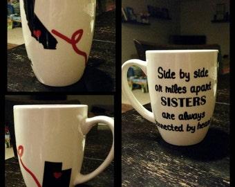 Custom Miles Apart Coffee Mug