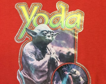 Rare 1980 Yoda Lucas Films tee