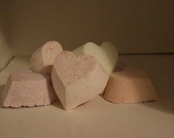 BIg HEART Bath Bomb customize