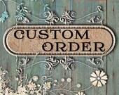 Custom Order for Lyncee