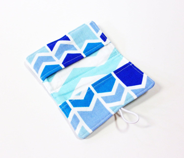 Spa sassari chevron fabric business card holder with blue multi spa sassari chevron fabric business card holder with blue multi broken chevron credit card reheart Image collections