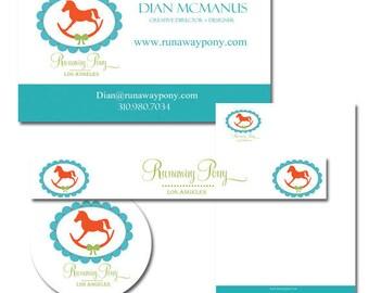 Full Branding Package All Inclusive Full Branding Custom Logo, Business Card, Letterhead, Thank You Card, Envelope, Postcard 20 items