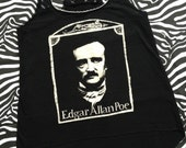 Edgar Allan Poe Asymmetrical Vest Top