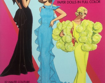 Paper Dolls Thirties Great Fashion Design in Full Color Haute Couture