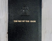 Vintage Leather Prayer Book - The Way Of The Cross - 1956 - Stations Of The Cross - Catholic Prayer Book - Religious Ephemera