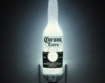 Corona Beer 12oz Night Light Bar Light Bottle Lamp Accent Lamp Eco 50,000 hr. LED
