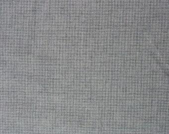 Wool Plaid Fabric Wool Blend Fabric Lavender Gray Fabric - 1 1/8 Yard - WSF1372