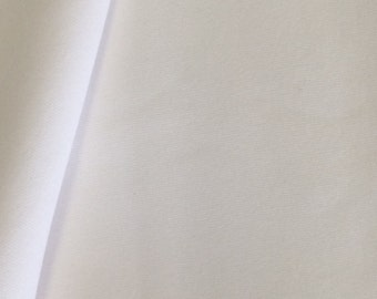 Polyester Knit Fabric White Polyester Knit Fabric 2 and 1/2 Yards