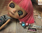 Bubblegum, Custom Takara Simply Guava Blythe Doll