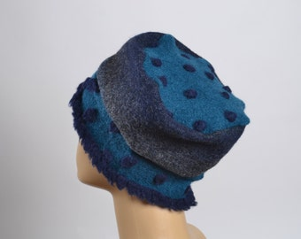 Cashmere and Wool Hat - Women's Hats - Winter Hats - Women's winter hats - Warm Hats - Christmas Gifts -
