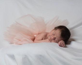 Adaleigh Newborn Baby Tulle Tutu Skirt