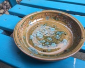 Thank for marrying us, marriage gift, pastor gift, priest gift, minister gift, officiant gift, ceramic plate, rustic dish, carved pottery