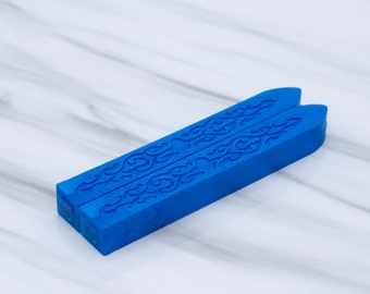 Blue Sealing Wax  - standard or fit for glue gun (set of two) - Color Q