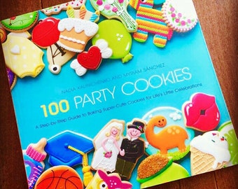 100 party cookies book.