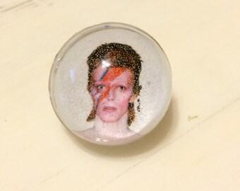 David Bowie Ring - David Bowie Jewelry - Ziggy Stardust Ring - Ziggy Stardust Jewelry - David Bowie - Ring - Photo Ring