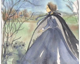 Jane Eyre postcard