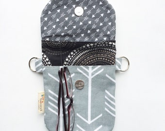 Hip Pouch Phone Case, Mini Crossbody Bags, Purse for Phone, Mini Hip Purse, Mini Travel Purse, Fabric Travel Bag, Crossbody for iPhone