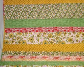 Multicolored Lap Quilt