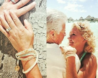 Bora Bora wrap bracelet
