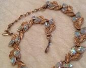 Vintage Mid Century Rhinestone Necklace