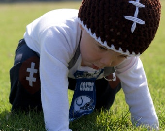 SALE ANTSY Pants Baby Football Hat - Size 6-12 Months