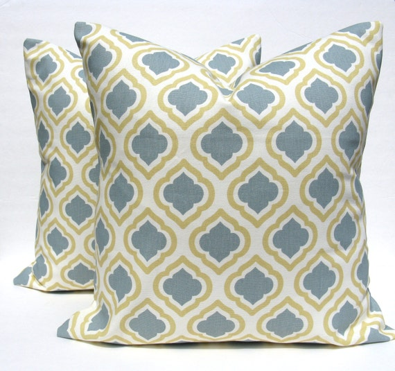 Decorative Throw Pillows Etsy : Items similar to Decorative Throw Pillows 20 x 20 Pillow Covers cushion Covers Set of TWO Accent ...