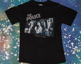 THE POLICE Music Shirt Size S