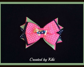 MTM Sweet and Smart Hair Bow Ready to Ship