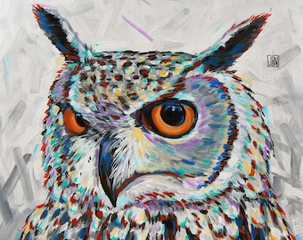 Owl (Giclee Print)