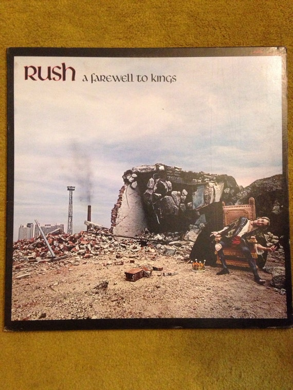Rush-A Farewell to Kings Gatefold • 1977 •LP•Album •vinyl • rock NM
