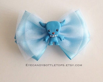 Little Monster Hair Bow