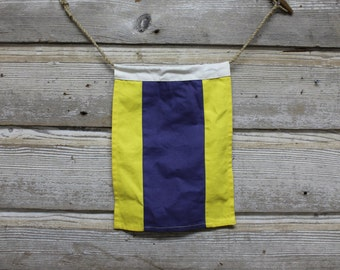 Vintage Signal Flags - Nautical and Marine