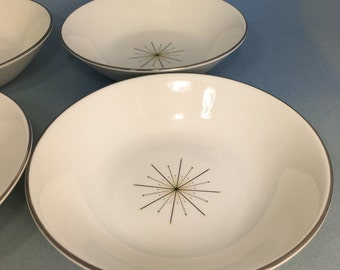 Modern Star by Homer Laughlin Cereal Bowls Set of 4