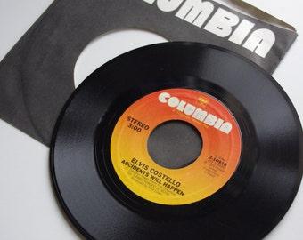 Elvis Costello - Accidents Will Happen/Sunday's Best Vinyl Single - 1979
