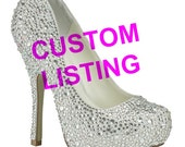 Custom Bling shoes