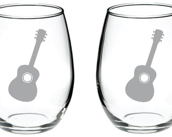Guitar Glass Free Personalization