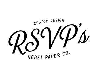 RSVP cards // Custom Design (deposit)