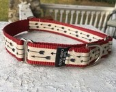 "Trapper's Flying Arrows- 1"" Martingale Collar"