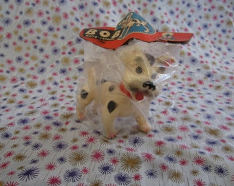 Edward Mobley, Estrela, made in brazil, Bob the dog, puppy, in original packaging, squeak toy