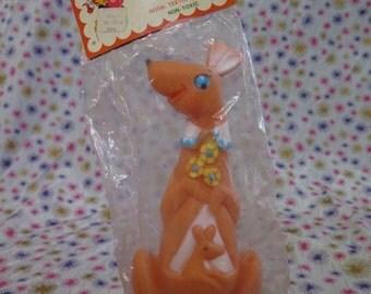 Edward Mobley, Kangaroo, in original packaging, Circus Pals, Squeak toy