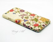 Floral Needle Work Print iPhone 6S case iPhone 6 case iPhone 6S Plus case iPhone 6 Plus case iPhone 5S case iPhone 5 case iPhone 4S case