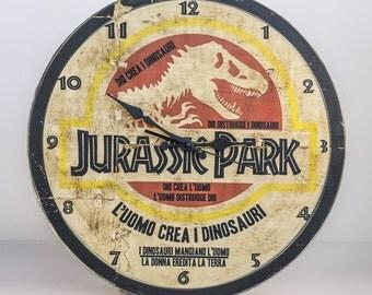 Jurassic Park Clock