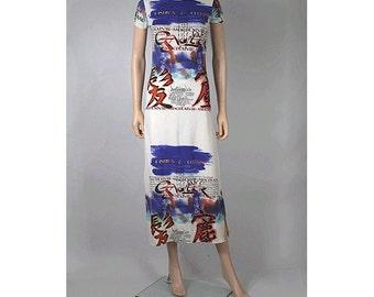 90s jean paul gaultier Dress long medium made in france