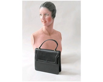 1960s little black handbag