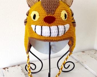 Catbus hat, totoro hat