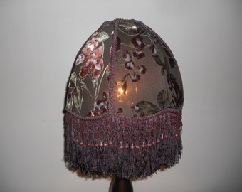 Espresso by Candlelight - Handmade One of a Kind Shade