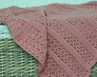 Florence's Petal Blanket - Instant Download PDF Crochet Pattern