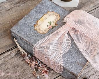 Shabby Wedding Guest Book,  Photo album, Shabby Chic Wedding, Custom Wedding Photo Booth album