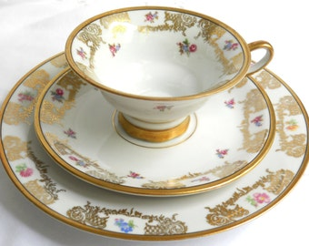 vintage teacup trio tea cup vintage tea cup trio teacups and saucers 902